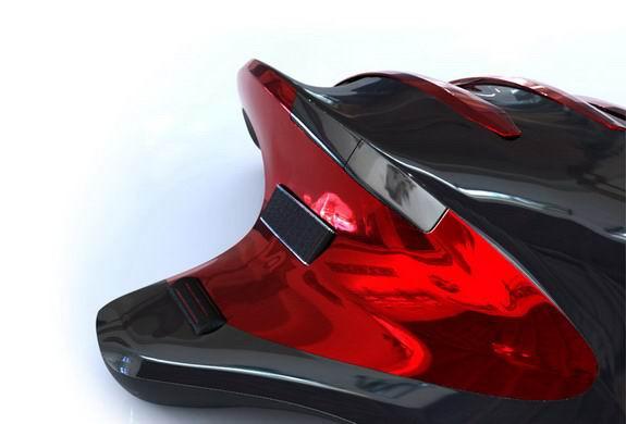 罗技人体工学设计概念鼠标-G50 Vanguard